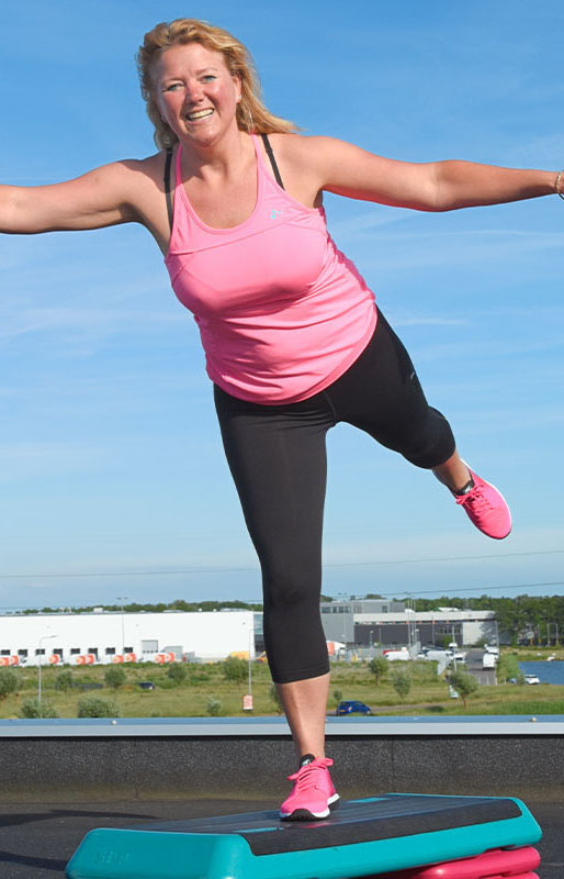 TH Sport & Fitness - Thea Hoogervorst - Sportcentrum Voorhout - Step training